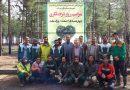 مراسم روز درختکاری در پارک جنگلی ملت شهر فیض آباد برگزار شد