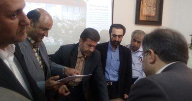 حضور دکتر جمالی نژاد در شهرداری فیض آباد